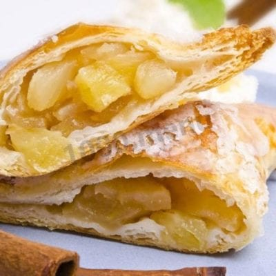 Recipe for Sweet Puffs with Pineapple