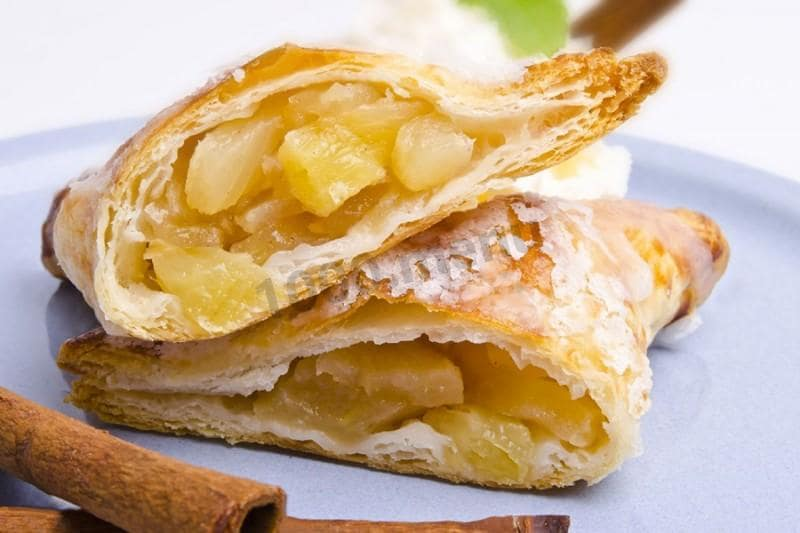 Pineapple Puff Pastry
