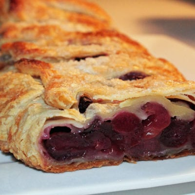 Easy recipe for cherry puffs