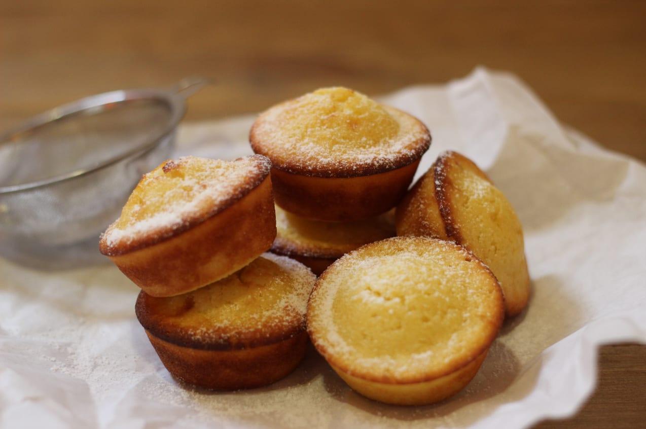 Vanilla Kefir Muffins