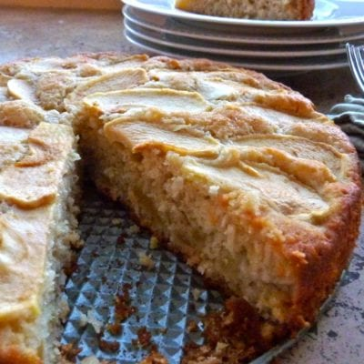 Apple and coconut cake recipe