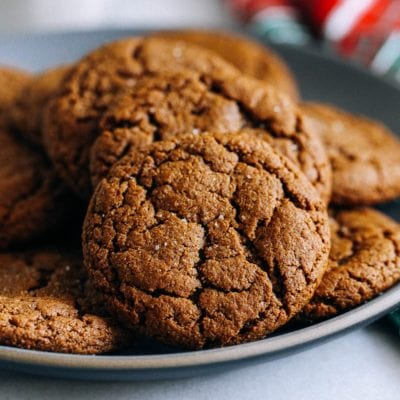 Easy Big Soft Ginger Cookies Recipe