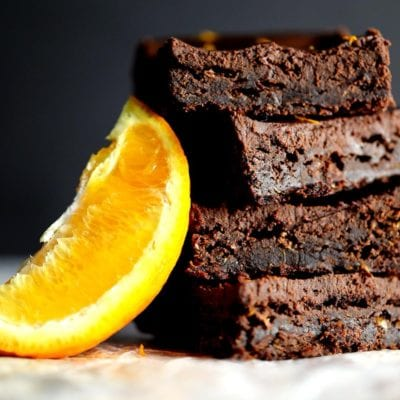 Chocolate and orange brownies recipe