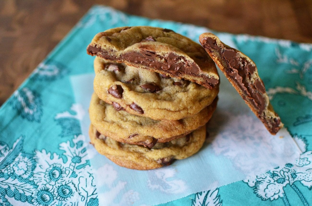 Nutella chocolate-chip cookies