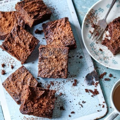 Nutty avocado brownies easy recipe