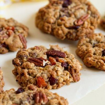 Super fruit oat cookies recipe