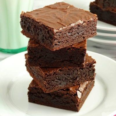 Surprise chocolate brownies recipe