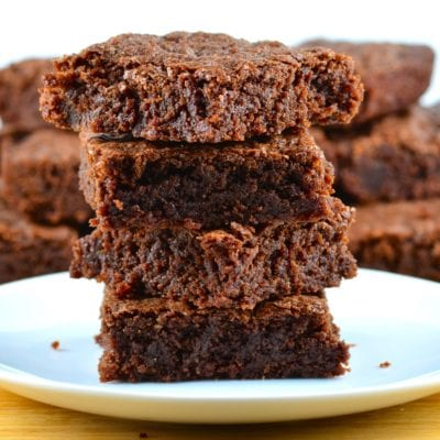 Ultimate chocolate brownie easy recipe