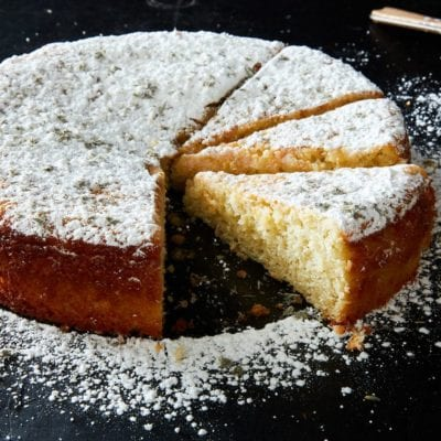 Yogurt and lemon cake recipe