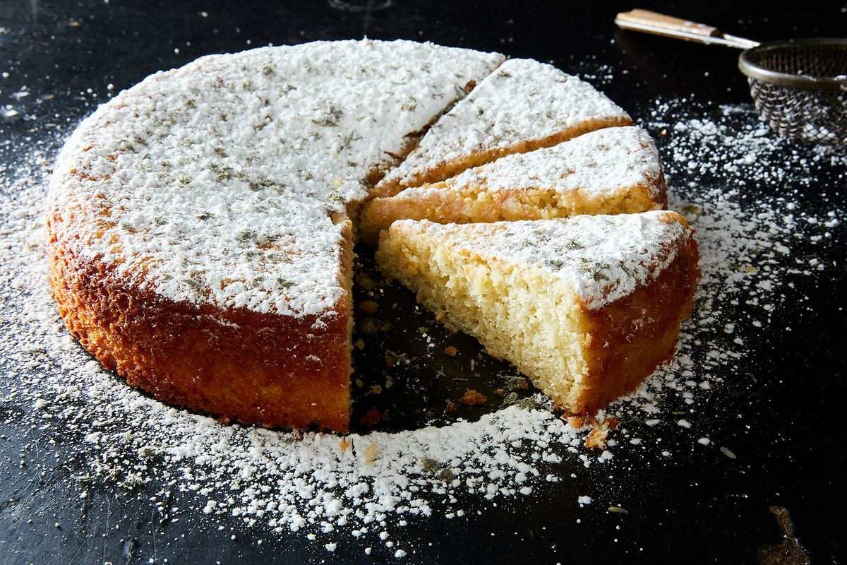 Yogurt and lemon cake recipe | 5RECIPE.TOP