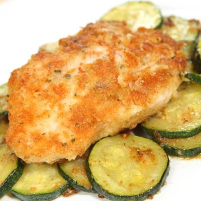 Easy Baked Garlic Parmesan Chicken Recipe